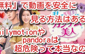 私のIDはカンナム美人 動画 フル 1話 最終回 日本語字幕 無料 動画  dailymotion pandora
