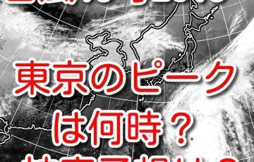 台風19号 2019 東京 ピーク いつ 被害予想は?威力・動き 今後 進路予想