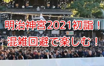明治神宮 初詣 2021 待ち時間 参拝者 人数 混雑 時間帯 アクセス 駐車場