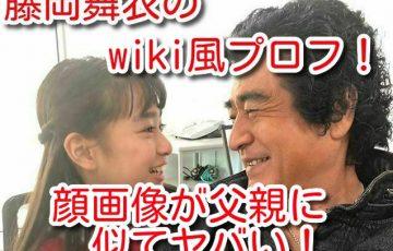 藤岡舞衣 wiki風 プロフ ニコプチ モデル 顔 画像 可愛い 顔 画像 父親 似て ヤバい